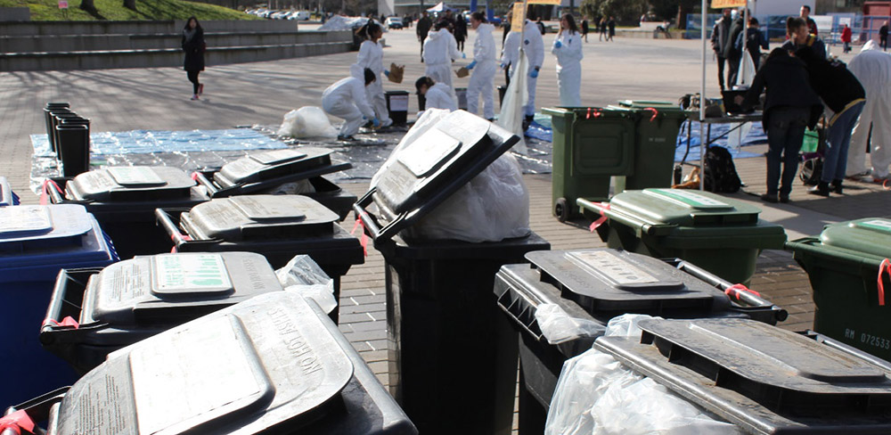 UBC student suggests a new way to collect waste