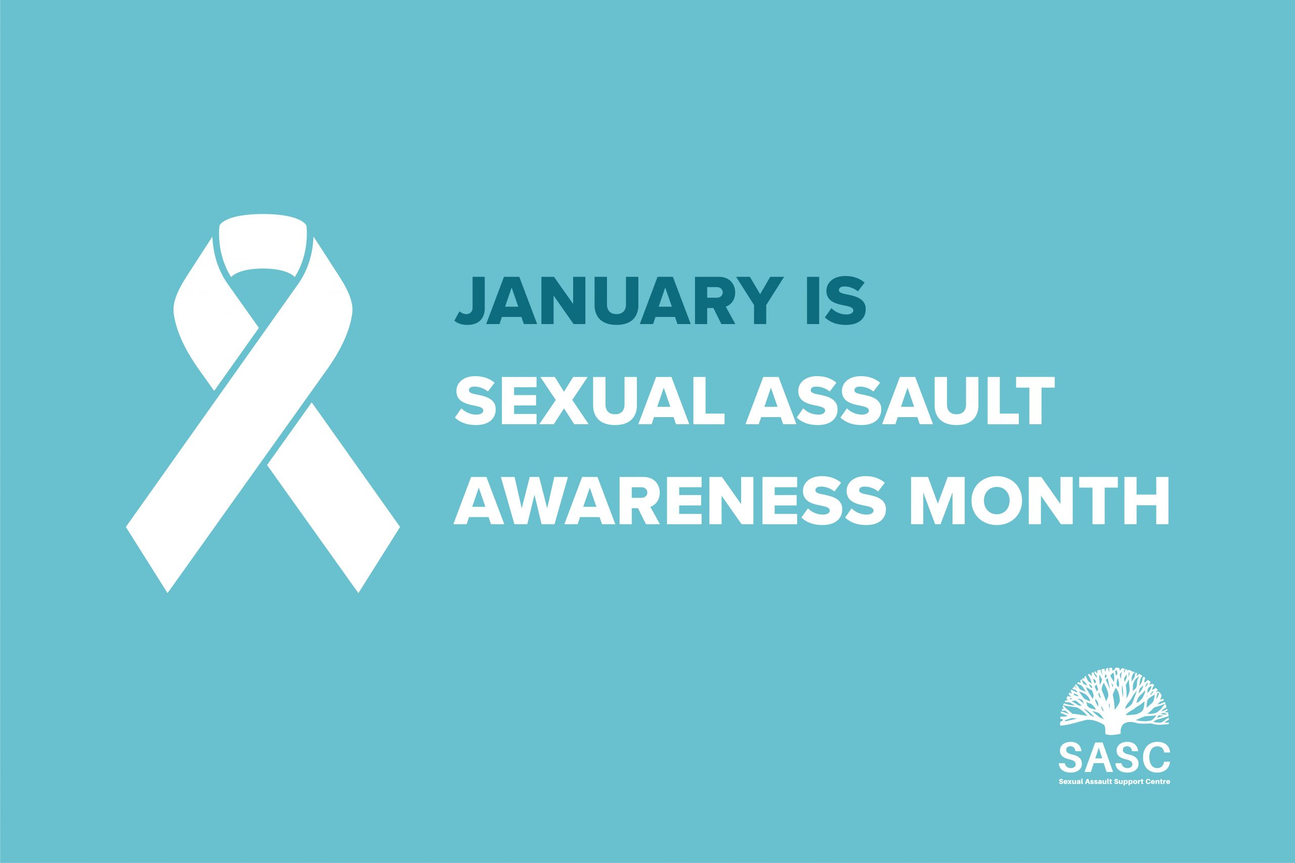 January is Sexual Assault Awareness Month